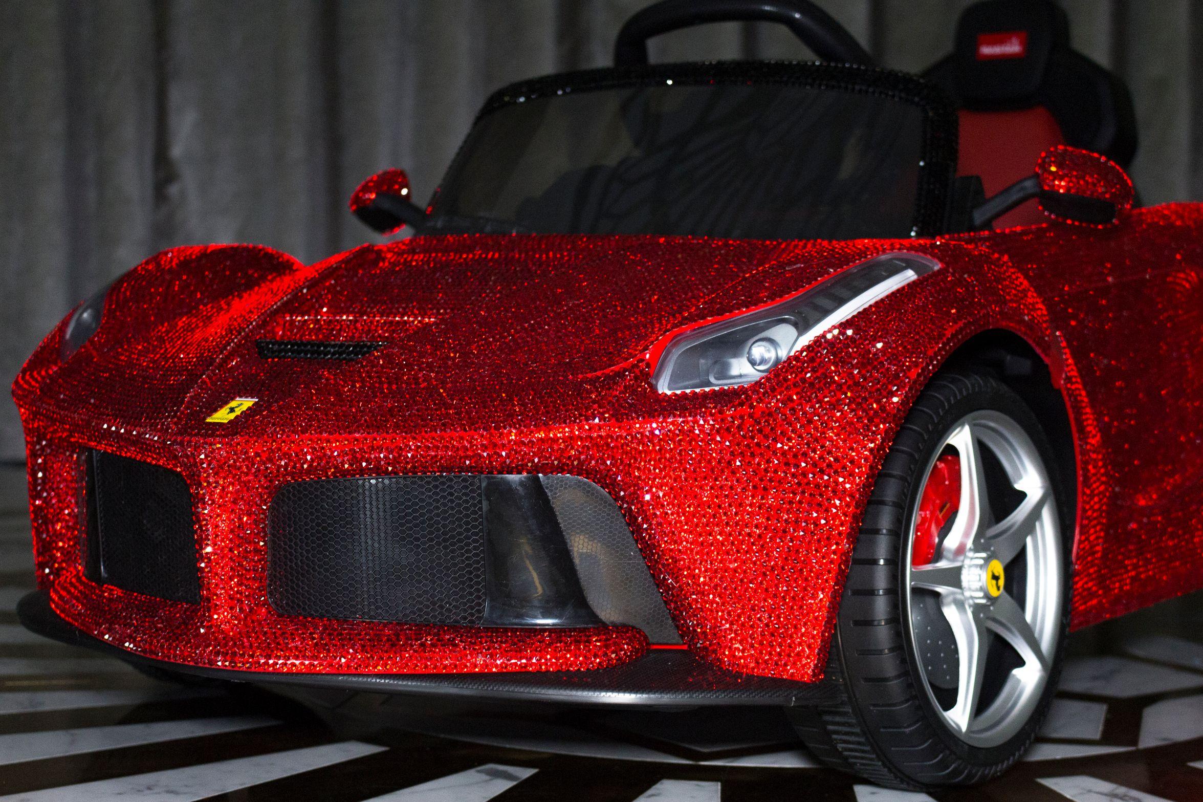 La Ferrari Swarovski Front Shot