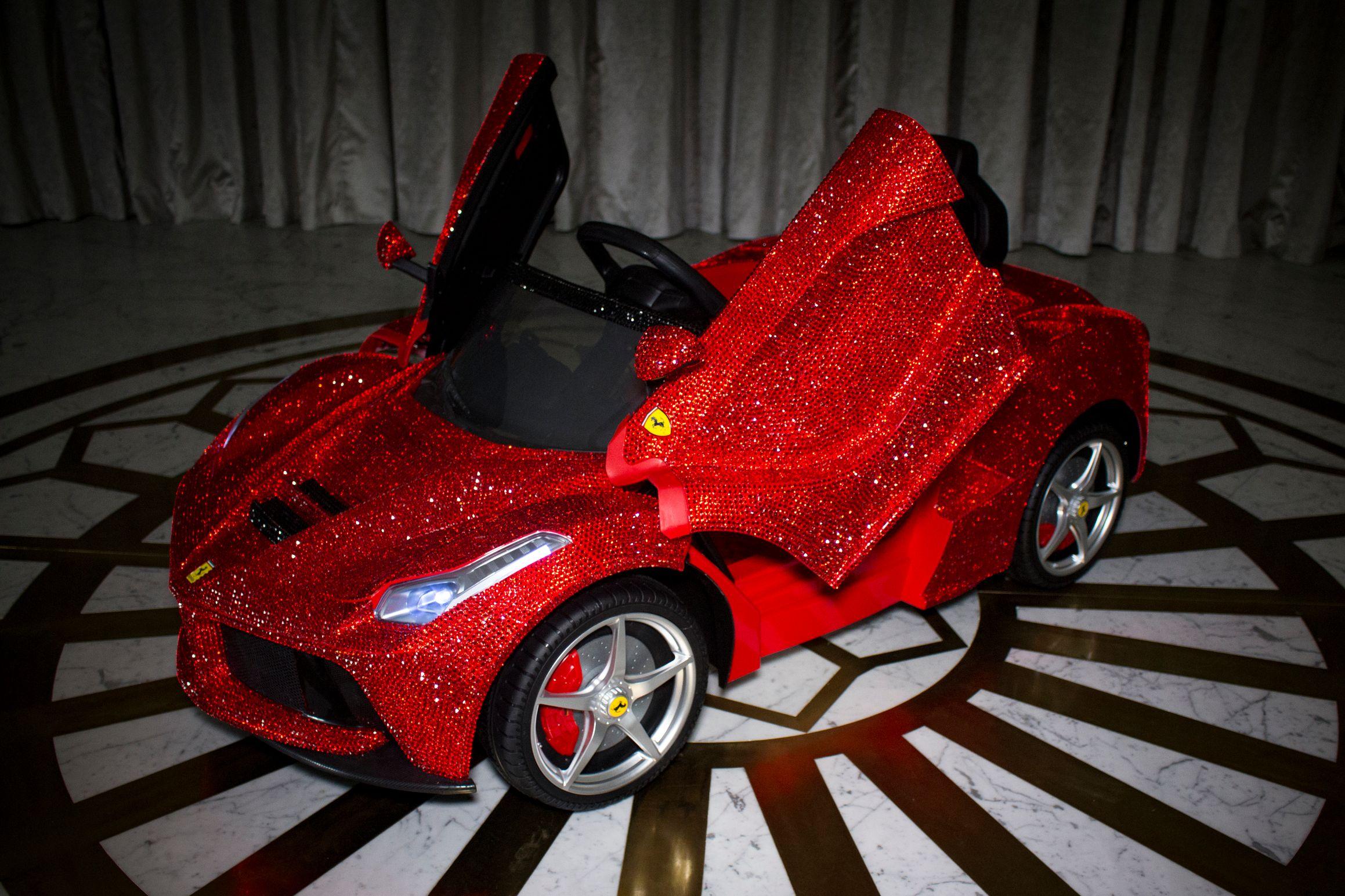 La Ferrari Swarovski Main Shot